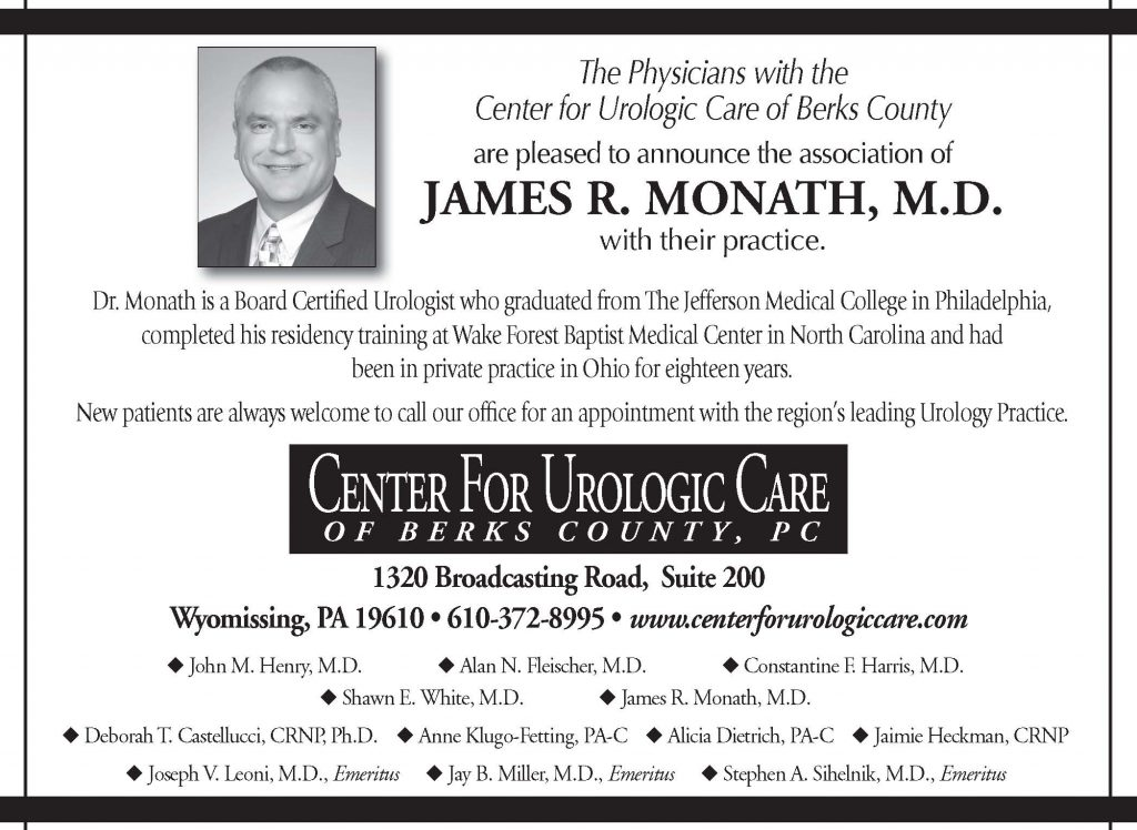 Dr. James R. Monath joined the practice in the summer of 2016.