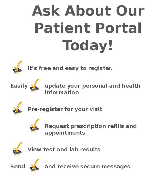 Ask About Our Patient Portal